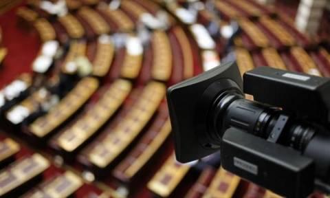 Τηλεοπτικές άδειες - Βουλή: «Φρένο» στην εξέταση Παππά και υπερθεματιστών από την Επιτροπή Θεσμών