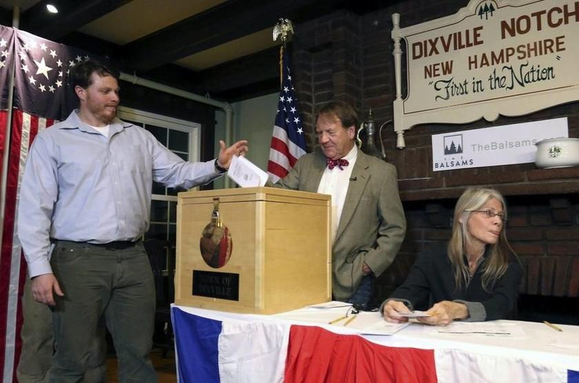 Αμερικάνικες εκλογές 2016: Η μέγαλη μέρα των ΗΠΑ μέσα από φωτογραφίες