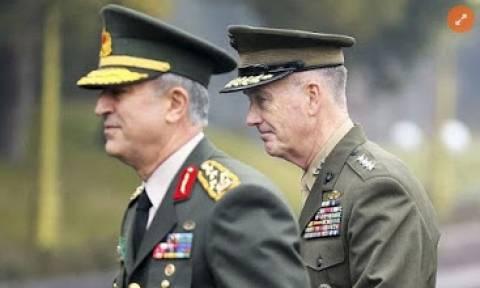 Ο αρχηγός του Επιτελείου Στρατού των ΗΠΑ στην Άγκυρα