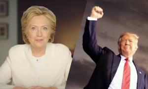 Αμερικανικές εκλογές 2016: Δείτε LIVE τα αποτελέσματα