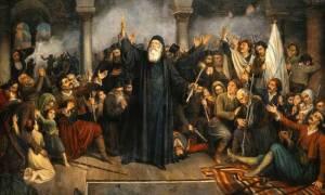 Σαν σήμερα το 1866 το ολοκαύτωμα της Μονής Αρκαδίου