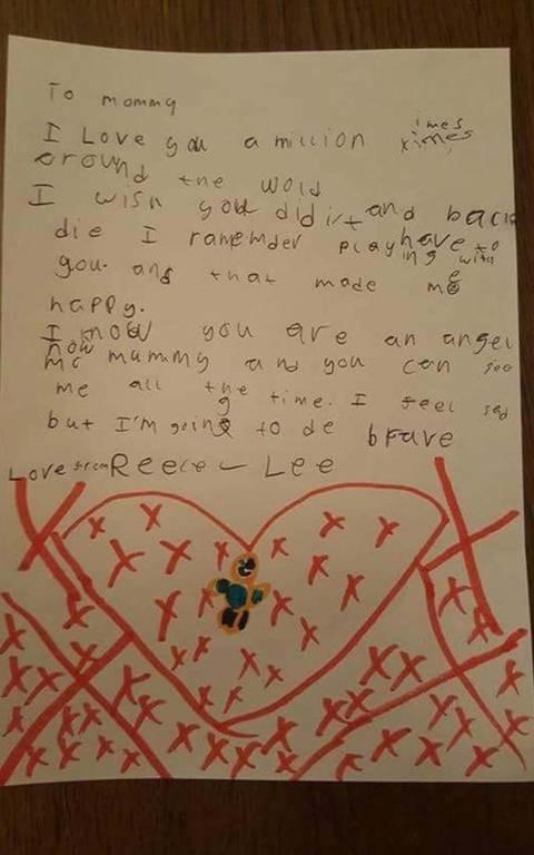 Ραγίζει καρδιές το γράμμα 8χρονου στη νεκρή μητέρα του