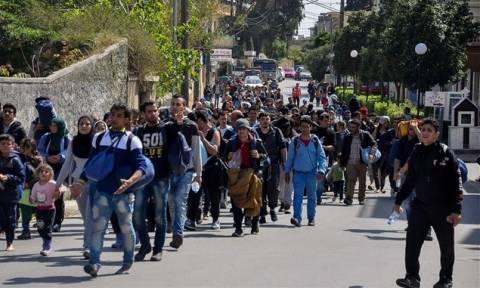 Το εκρηκτικό πρόβλημα των προσφύγων στη Χίο στο επίκεντρο σύσκεψης στο Μαξίμου