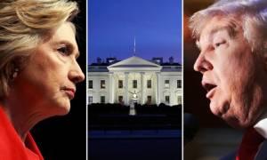 Αμερικανικές εκλογές 2016: Τι ώρα θα μάθουμε το νέο ένοικο του Λευκού Οίκου