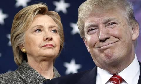 Αποτελέσματα εκλογών ΗΠΑ: Στον Τραμπ Οχάιο και Β. Καρολίνα, στη Χίλαρι Βιρτζίνια και Κολοράντο