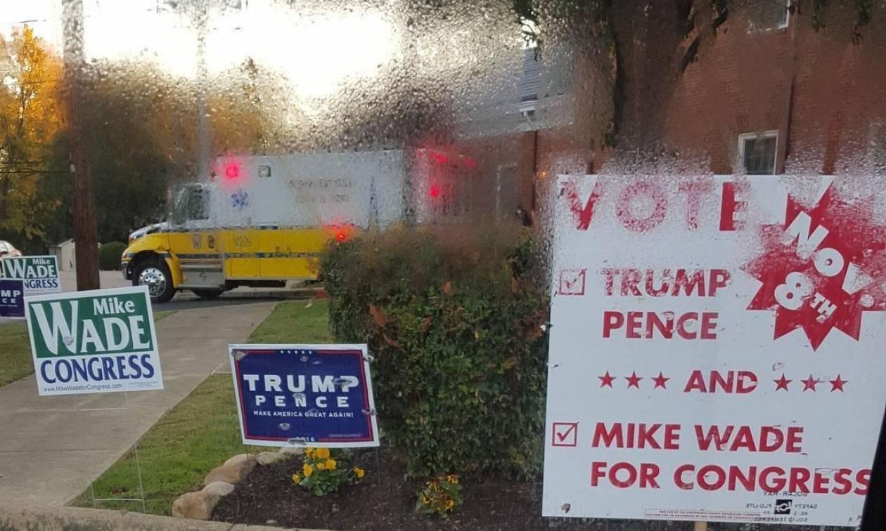Εκλογές ΗΠΑ 2016: Τα περίεργα της κάλπης - Δεν έμπαινε στο ασθενοφόρο χωρίς... να ψηφίσει!