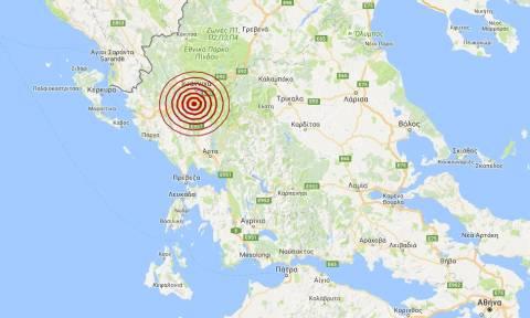 Σεισμός 3,4 Ρίχτερ στα Ιωάννινα (pics)