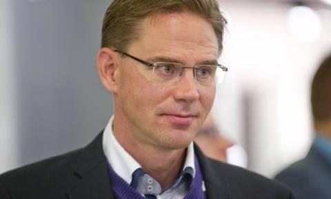 J.Katainen: Επενδυτικές πλατφόρμες για δανεισμό των Μικρομεσαίων στην Ελλάδα