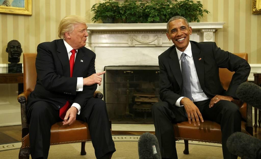 Ο Ντόναλντ Τραμπ στον Λευκό Οίκο: Τι είπε στην πρώτη του συνάντηση με τον Ομπάμα (photos&video)