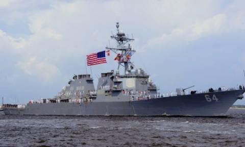 Αμερικανικό καταδρομικό στο λιμάνι του Πειραιά - Τι συμβαίνει; (vid)