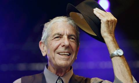 Θρήνος: Πέθανε σε ηλικία 82 ετών ο τραγουδοποιός Λέoναρντ Κοέν