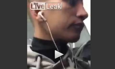 Βίντεο: Άνδρας προσπαθεί να κλέψει στο μετρό της Αθήνας