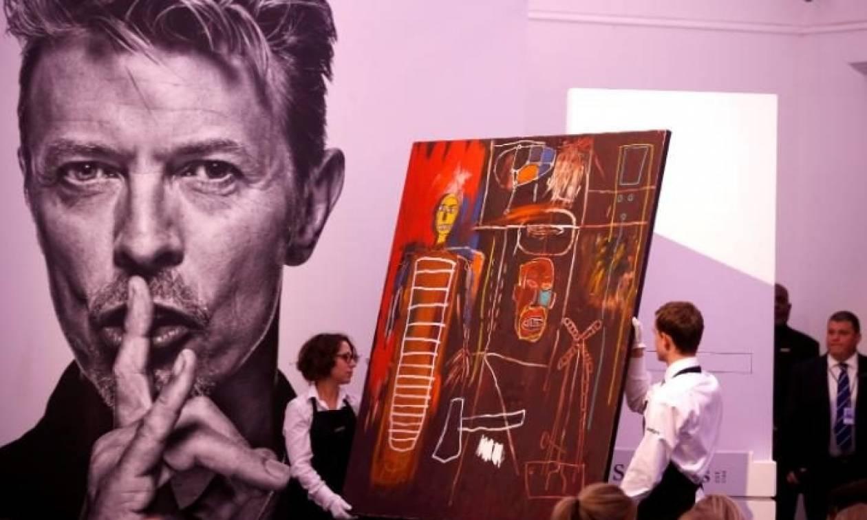 Αστρονομικό ποσό στη δημοπρασία αντικειμένων από τη συλλογή έργων τέχνης του David Bowie