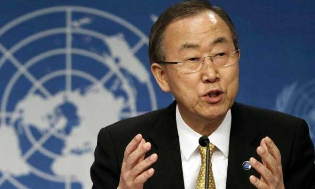 Μπαν Κι Μουν: Θέλω να δω τον Τραμπ πριν φύγω από τον ΟΗΕ