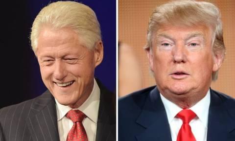 Νέος πρόεδρος ΗΠΑ: Ο Μπιλ Κλίντον σύμβουλος του Τραμπ;