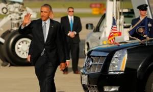 Ομπάμα Αθήνα: «Κλαίει» όλο το ίντερνετ με μια φωτογραφία και τις γκάφες τη στιγμή της άφιξης