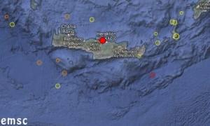 Σεισμός «ξύπνησε» την Κρήτη