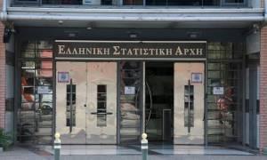 ΕΛΣΤΑΤ: Άνοδος 1,5% του ΑΕΠ το γ' τρίμηνο φέτος