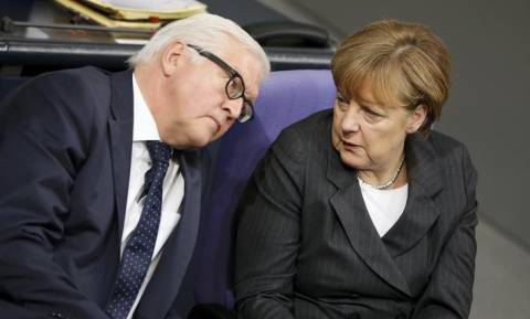 Μέρκελ: Εξαιρετικός υποψήφιος για τη θέση του προέδρου ο Στάινμαϊερ