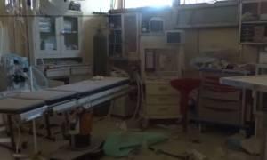 Συρία: Νοσοκομείο στο Χαλέπι καταστράφηκε από αεροπορικούς βομβαρδισμούς