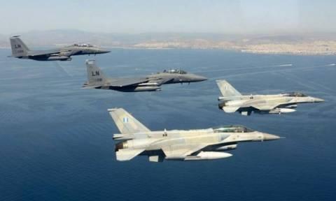 Εμπλοκή τουρκικών και ελληνικών μαχητικών στο Αιγαίο