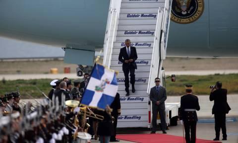 Ο Ομπάμα στην Αθήνα: Δείτε LIVE τη συνάντησή του με τον Πρόεδρο της Δημοκρατίας