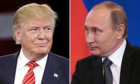 Τηλεφώνημα Πούτιν σε Τραμπ: Διαβάστε όσα ειπώθηκαν (Pic+Vid)
