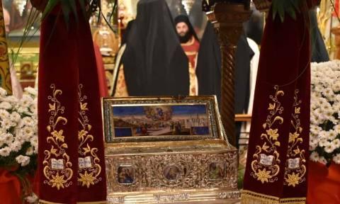 Παρατείνεται το προσκύνημα της Αγίας Ζώνης στην Καλαμαριά!
