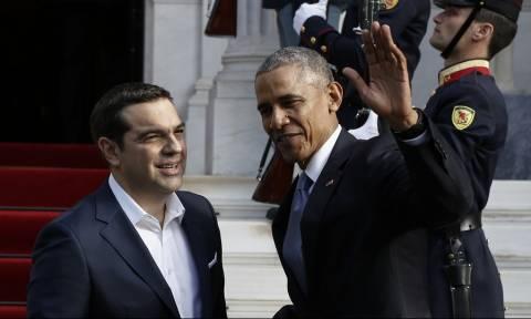 Επίσκεψη Ομπάμα: Δείτε Live τις κοινές δηλώσεις Ομπάμα - Τσίπρα