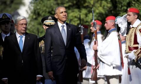 Επίσκεψη Ομπάμα: Οι προετοιμασίες για το επίσημο δείπνο - Γαρίδες, σφυρίδα και γλυκό με κάστανα