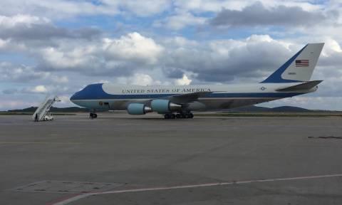 Ομπάμα στην Αθήνα: Αναχώρησε ο πρόεδρος των ΗΠΑ