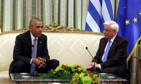 Επίσκεψη Ομπάμα: Το δείπνο και το πολιτικό… μενού στο Προεδρικό Μέγαρο