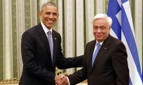 Παυλόπουλος σε Ομπάμα: Μη λησμονάτε τη χώρα μου