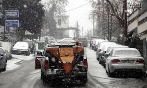 Κακοκαιρία: Τσουχτερό το κρύο στη Μακεδονία - Έπεσαν οι πρώτες νιφάδες στον Χορτιάτη