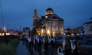 Υποδοχή Τιμίας Κάρας Αγίου Νικηφόρου στην Λάρισα
