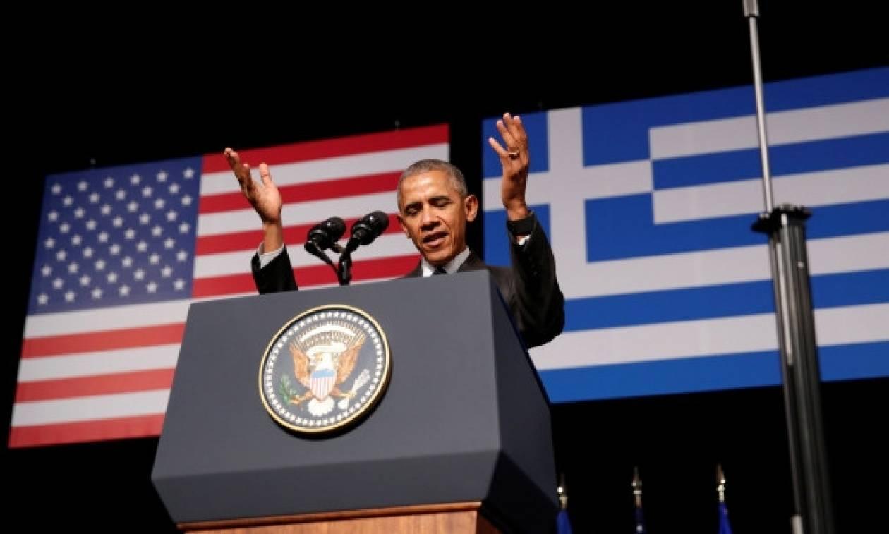 Ομιλία Ομπάμα στο Ίδρυμα «Σταύρος Νιάρχος» - «Ζήτω η Ελλάς» στα ελληνικά φώναξε ο Ομπάμα
