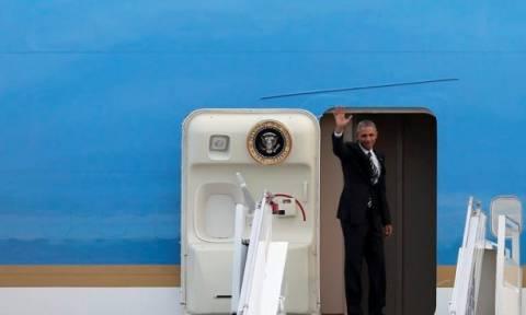 Αναχώρησε ο Μπαράκ Ομπάμα από την Αθήνα - Επόμενος σταθμός το Βερολίνο