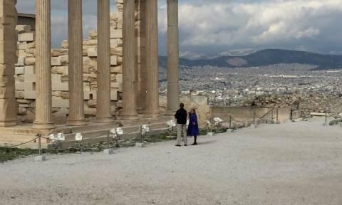 Επίσκεψη Ομπάμα Αθήνα: Ενθουσιασμένος ο πρόεδρος των ΗΠΑ - Τι είδε στην Ακρόπολη (photos)
