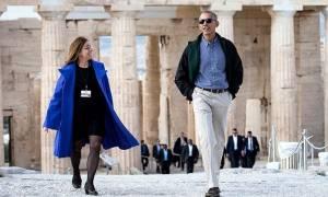 Ποια είναι η Ελένη Μπάνου που ξενάγησε τον Ομπάμα στην Ακρόπολη και τι αποκάλυψε για τον πρόεδρο