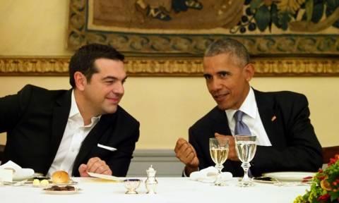 Πανηγυρίζει το Μαξίμου που ο Ομπάμα αποκάλεσε τον Τσίπρα «Αλέξη» τέσσερις φορές!