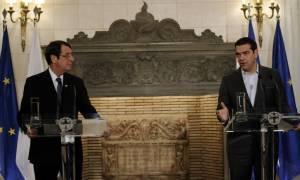 Τσίπρας για Κυπριακό: Λύση χωρίς κατοχικά στρατεύματα και εγγυήσεις