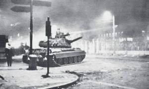 Σαν σήμερα το 1973 το άρμα εισέβαλε στο Πολυτεχνείο καταστέλλοντας την εξέγερση