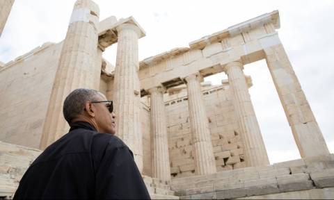 Το συγκινητικό μήνυμα του Λευκού Οίκου από την επίσκεψη Ομπαμα στην Αθήνα (photo)