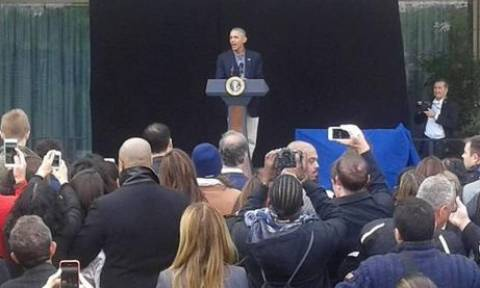 Αποκάλυψη: Η κρυφή ομιλία του Ομπάμα στην Αθήνα (photo)