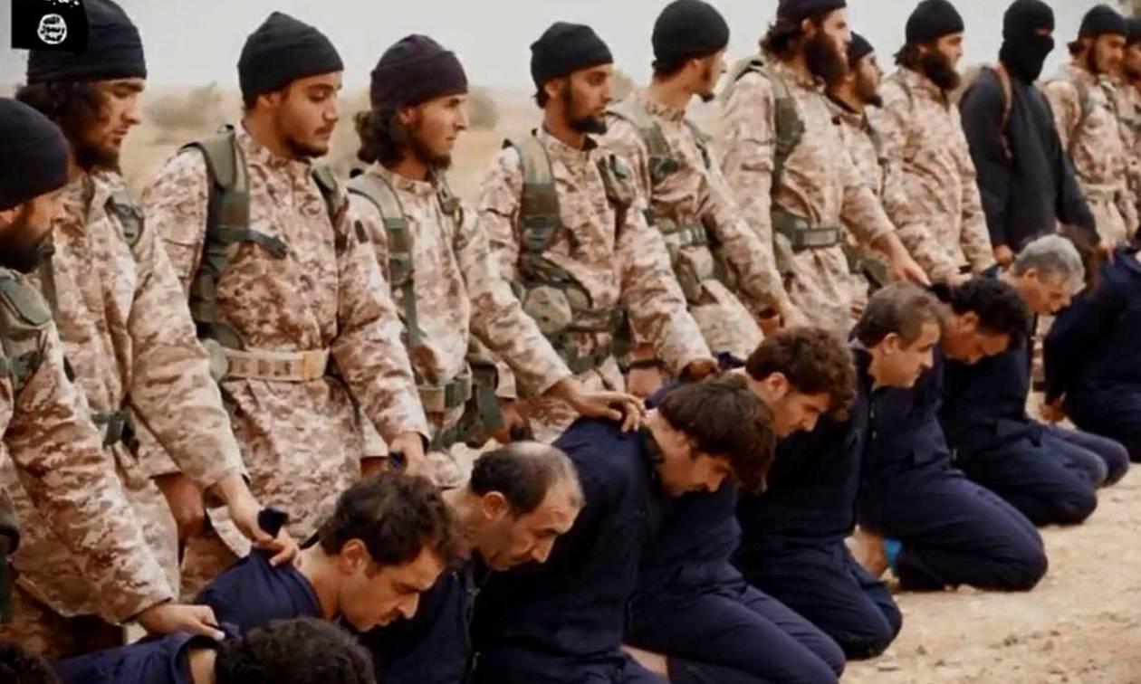 Νέα θηριωδία του ISIS στο Ιράκ: Μαζικός αποκεφαλισμός 300 αστυνομικών κοντά στη Μοσούλη