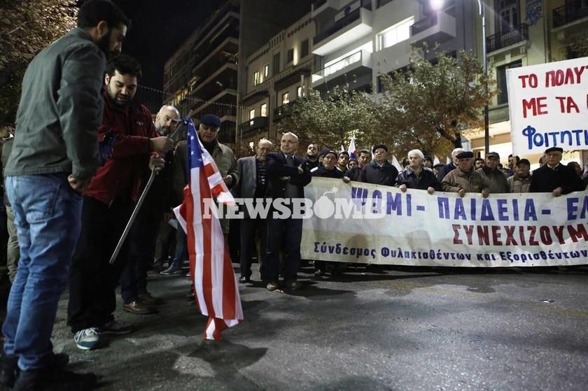 Πολυτεχνείο 1973: Σε εξέλιξη η πορεία για το Πολυτεχνείο στη Θεσσαλονίκη