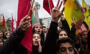 Βέλγιο: Κούρδοι διαδήλωσαν στις Βρυξέλλες ζητώντας μέτρα από την ΕΕ κατά Ερντογάν