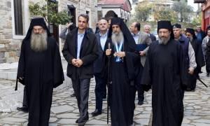 Μητσοτάκης: Το Άγιον Όρος αποτελεί φάρο ελπίδας για όλους τους Ορθόδοξους (pics)