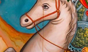 Δάκρυσε το άλογο του Αγίου Γεωργίου;