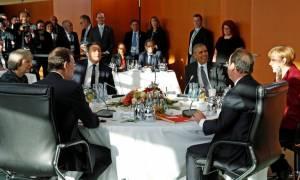 Συμφωνία Ευρωπαίων ηγετών με Ομπάμα για συνέχιση της συνεργασίας στο ΝΑΤΟ - Τι είπαν για Ρωσία